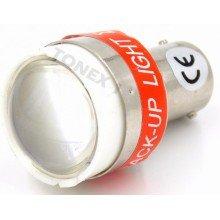 Диодна крушка (LED крушка) 12V, P21W, BA15s