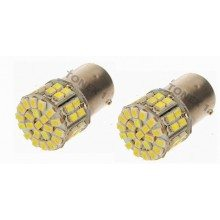 Диодна крушка (LED крушка) 24V, P21W, BA15s, блистер 2 бр.