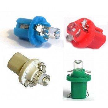 Диодна крушка (LED крушка) 12V, BX8.5d, блистер 2 бр.
