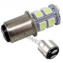 Диодна крушка (LED крушка) 12V, P21/5W, BAY15d
