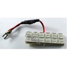 Диодна крушка (LED крушка) интериорна, за плафон 12V, червена светлина