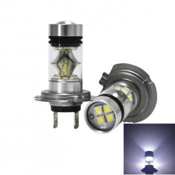 Диодна крушка (LED крушка) 12V, H7, PX26d