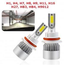 Диодна крушка (LED крушка) 12 / 24V, различни видове, блистер 2бр.