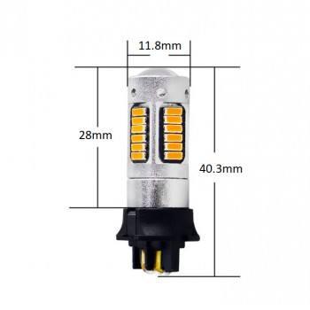 Диодна крушка (LED крушка) 12V, PWY24W