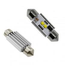 Диодна крушка (LED крушка) 12V, C5W, C10W, SV8.5, Canbus, блистер 2 бр.