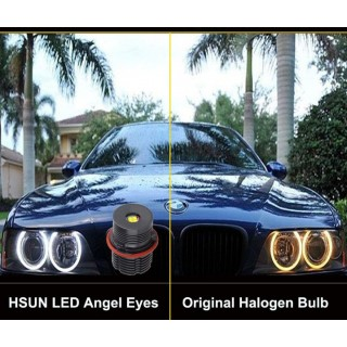 Диодни LED крушки за Ангелски очи Angel Eyes 40W BMW бяла светлина