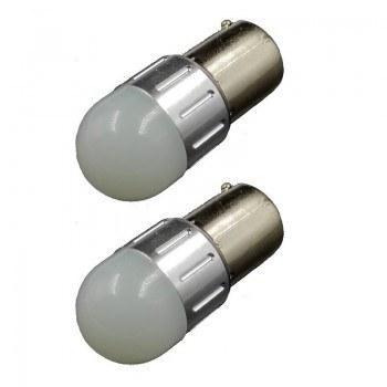 Диодна крушка (LED крушка) 12V, P21W, BA15s, блистер 2 бр.