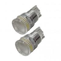 Диодна крушка (LED крушка) 12V, W5W, T10, W2.1x9.5d, блистер 2 бр,