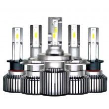 Диодна крушка (LED крушка) 12V 24V H1, H4, H7, блистир 2бр