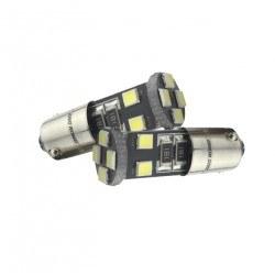 Диодна крушка (LED крушка) 12V, H6, BAX9s CAN Bus блистер 2бр
