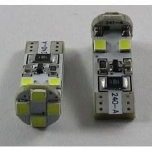 Диодна крушка (LED крушка) 12V, W5W, T10, W2.1x9.5d, блистер 2 бр