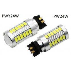 Диодна крушка (LED крушка) 12V, PW24W, PWY24W