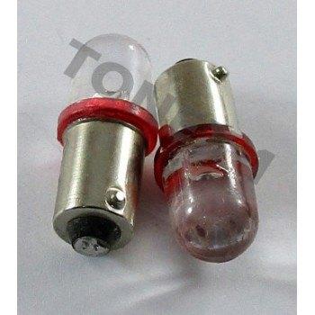 Диодна крушка (LED крушка) 12V, T4W, BA9s