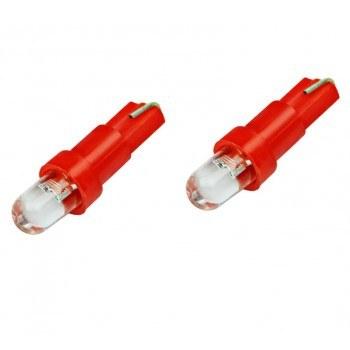 Диодна крушка (LED крушка) 12V, W1.2W, T5, W2x6.4d