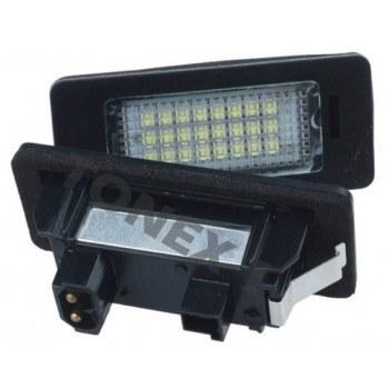 Диодни плафони осветление за номер BMW Серия 1, 3, 5