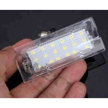 Диодни плафони осветление за номер BMW X3, X5