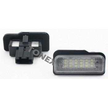 Диодни плафони осветление за номер MERCEDES C, E, CLS, SLK