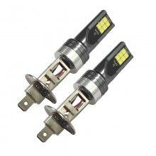 Диодна крушка (LED крушка) 12/24V, H1, P14.5s блистер 2 броя