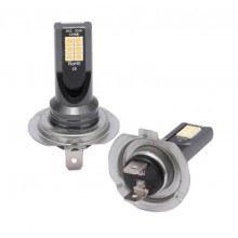 Диодна крушка (LED крушка) 12/24V, H7, PX26d блистер 2 броя