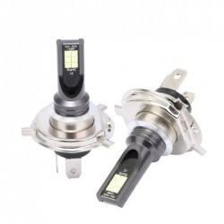 Диодна крушка (LED крушка) 12/24V, H4, P43 блистер 2 броя