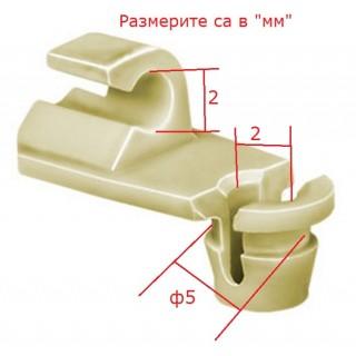 Копка - щипка ф5х2мм