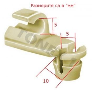Копка - щипка ф10х5мм