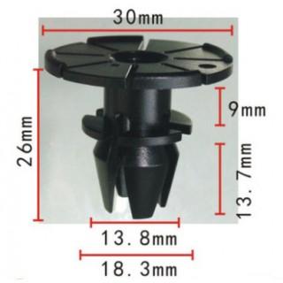 Копка - щипка ф13.8х26х30мм