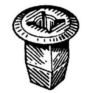 Копка - щипка ф8х16х17мм