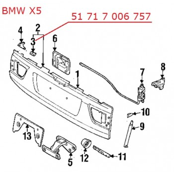 Копка - щипка BMW