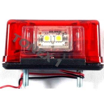 Диодно (LED) осветление за регистрационен номер универсално 12 / 24V