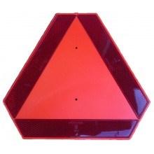 Светлоотразителна табела за бавно движещо се МПС