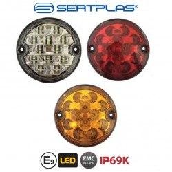 Диодни LED стопове за ремарке 1бр 12V / 24V