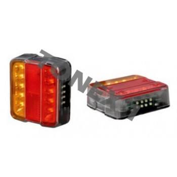 Диодни (LED) стопове за ремарке 1бр 12V / 24V