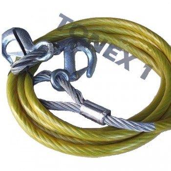 Въже за теглене 10 тона метално