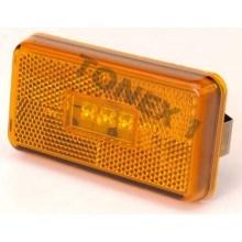 Диоден (LED) страничен габарит 104х56мм 24V