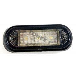 Диодно (LED) осветление за регистрационен номер универсално 24V