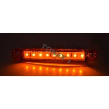 Диоден (LED) страничен габарит 101х15мм универсален 24V
