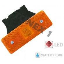 Диоден (LED) страничен габарит 110х75мм универсален 12 / 24V
