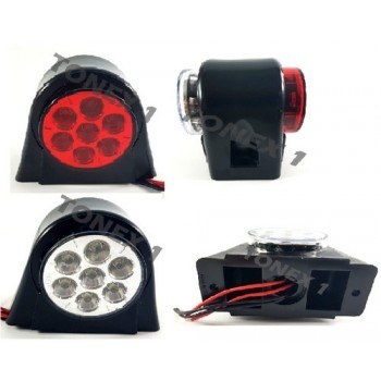 Диоден (LED) габарит 93х74мм универсален 12 / 24V