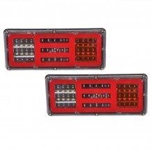 Диодни (LED) стопове за ремарке комплект 24V