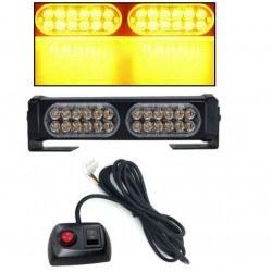 Аварийна сигнална LED лампа 12V / 24V блиц