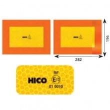 Светлоотразителни табели комплект от 2 бр.