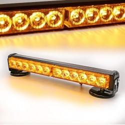 Акумулаторна аварийна сигнална LED лампа 12V / 24V