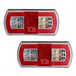 Диодни (LED) стопове за ремарке комплект 12V / 24V