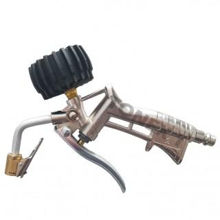 Пистолет за помпане на гуми с манометър ф45 мм 0-10 bar