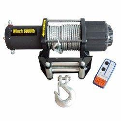 Електрическа лебедка ATV 6000lbs, 2700кг