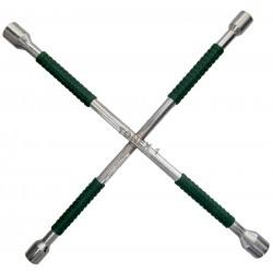 Ключ за гуми кръстачка усилена 17, 19, 21, 23 мм
