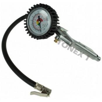 Пистолет за помпане на гуми с манометър ф64 мм 0-15 bar