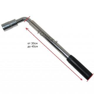 Ключ за гуми г-образен разтегателен 17 и 19мм