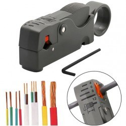 Инструмент за оголване на кабели 4-12мм